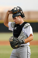Josh Phegley - Chicago White Sox 2009 Instructional League .Photo by:  Bill Mitchell/Four Seam Images..