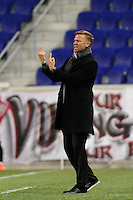 Harrison, NJ - Wednesday Feb. 22, 2017: Jesse Marsch during a Scotiabank CONCACAF Champions League quarterfinal match between the New York Red Bulls and the Vancouver Whitecaps FC at Red Bull Arena.