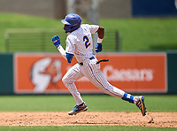John Carroll Catholic Rams Jay Allen (2) running the bases during the 42nd Annual FACA All-Star Baseball Classic on June 6, 2021 at Joker Marchant Stadium in Lakeland, Florida.  (Mike Janes/Four Seam Images)