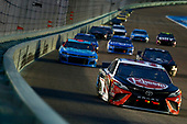 HOMESTEAD, FLORIDA - JUNE 14: Christopher Bell, driver of the #95 Rheem/Smurfit Kappa Toyota, leads a pack of cars during the NASCAR Cup Series Dixie Vodka 400 at Homestead-Miami Speedway on June 14, 2020 in Homestead, Florida. (Photo by Michael Reaves/Getty Images)