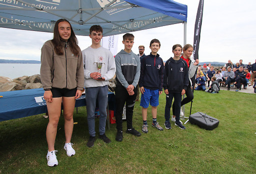 Larne Grammar were winners of the Schools Trophy