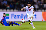 Komail Hasan Alaswad of Bahrain (R) in action during the AFC Asian Cup UAE 2019 Group A match between India (IND) and Bahrain (BHR) at Sharjah Stadium on 14 January 2019 in Sharjah, United Arab Emirates. Photo by Marcio Rodrigo Machado / Power Sport Images