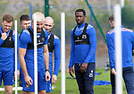 St Johnstone Training...<br />Efe Ambrose pictured during training ahead of tomorrow nights Premier Sports Cup quarter final against Dundee<br />Picture by Graeme Hart.<br />Copyright Perthshire Picture Agency<br />Tel: 01738 623350  Mobile: 07990 594431