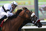 29 July 2009: Wolf Tail (2yo c by Strive) wins the Graduation Stakes under jockey Joel Rosario, defeating Grace Upon Grace and Victor Espinoza (inside) at Del Mar Race Track, Del Mar, CA