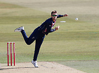 Joe Denly bowls for Kent during Kent Spitfires vs Essex Eagles, Vitality Blast T20 Cricket at The Spitfire Ground on 18th September 2020