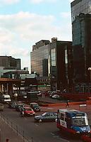 London Docklands:   South Quay.  Photo '90.