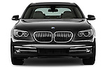 Straight front view of a 2013 BMW 7 Series 4dr Rear-Wheel Drive Sedan 750Li