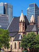 St. Leonhardskirche, Frankfurt, Hessen, Deutschland, Europa<br /> Church St. Leonhard, Frankfurt, Hesse, Germany, Europe