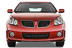Straight front view of a 2009 Pontiac Vibe GT