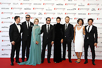 Monte-Carlo, Monaco, 16/06/2017 - 57th Monte-Carlo Television Festival Opening Ceremony Red Carpet. Cast of ABSENTIA. # 57EME FESTIVAL DE LA TELEVISION DE MONTE-CARLO - RED CARPET OUVERTURE