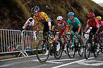 Primoz Roglic (SLO) Jumbo-Visma, Guillaume Martin (FRA) Cofidis, Miguel Angel Lopez (COL) Astana, Nairo Quintana (COL) Arkea-Samsic and Rigoberto Uran (COL) EF climb the Col de Peyresourde in front during Stage 8 of Tour de France 2020, running 141km from Cazeres-sur-Garonne to Loudenvielle, France. 5th September 2020. <br /> Picture: Colin Flockton | Cyclefile<br /> All photos usage must carry mandatory copyright credit (© Cyclefile | Colin Flockton)