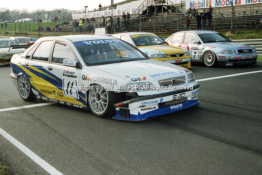 1997 British Touring Car Championship media day. Volvo S40 Racing. Volvo S40.
