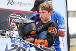 Levi Townley 8-11 years 85cc. New Zealand Motocross Age Group Nationals, TECT All Terrain Park, Bay of Plenty, Sunday 7 February 2021. Photo: Simon Watts/www.bwmedia.co.nz