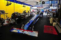Apr. 29, 2012; Baytown, TX, USA: NHRA top fuel dragster driver T.J. Zizzo during the Spring Nationals at Royal Purple Raceway. Mandatory Credit: Mark J. Rebilas-