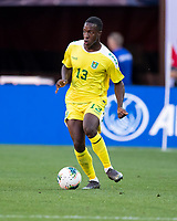 CLEVELAND, OH - JUNE 22: Liam Gordon #13 during a game between Panama and Guyana at FirstEnergy Stadium on June 22, 2019 in Cleveland, Ohio.