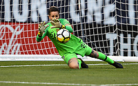 Cleveland, Ohio - Tuesday June 12, 2018: Ashlyn Harris during an international friendly match between the women's national teams of the United States (USA) and China PR (CHN) at FirstEnergy Stadium.
