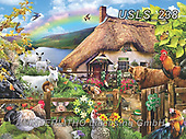 Lori, LANDSCAPES, LANDSCHAFTEN, PAISAJES, paintings+++++Luck Of The Irish_10 in RGB_72,USLS238,#l#, EVERYDAY ,puzzle,puzzles