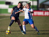Lakewood Ranch, FL - December 11, 2017: The U20 England defeated Finland, 6-0, during the Nike International Friendlies at Premier Sports Campus.