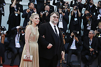 VENICE - August 29: President of the Venezia 75 competition Jury, director Guillermo del Toro and screenwriter Kim Morgan attend the opening ceremony of 75th Venice Film Festival on August 29, 2018 in Venice, Italy.(By Mark Cape/Insidefoto)