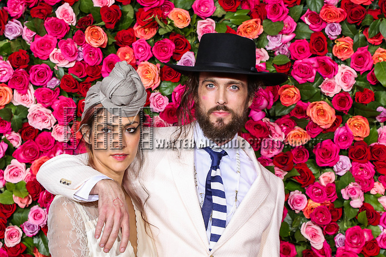 NEW YORK, NY - JUNE 10:  Alex Ebert (R)  attends the 72nd Annual Tony Awards at Radio City Music Hall on June 10, 2018 in New York City.  (Photo by Walter McBride/WireImage)