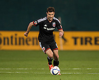 Washington, DC - April 11, 2015: D.C. United tied New York Red Bulls 2-2 during their Major League Soccer (MLS) match at RFK Stadium.