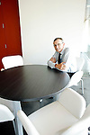 Charlie Slacik images - CFO - Beckman Coulter: Executive portrait photographs by San Francisco Bay Area - corporate and annual report - photographer Robert Houser. 2009 pictures.