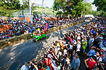 Competitors in action during the Red Bull Soapbox Race 2017 Taipei at Multipurpose Gymnasium National Taiwan Sport University on 01 October 2017, in Taipei, Taiwan. Photo by Victor Fraile / Power Sport Images
