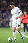 Real Madrid's Alvaro Morata during Champions League 2016/2017 Round of 16 1st leg match. February 15,2017. (ALTERPHOTOS/Acero)