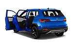 Car images of 2022 Volkswagen Taos SEL 5 Door SUV Doors