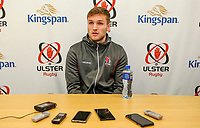 Tuesday 1st January 2019 | Ulster Rugby Match Briefing<br /> <br /> Ulster's Johnny McPhillips at the Ulster Rugby Match Briefing held at Kingspan Stadium ahead of Ulster's inter-pro clash against Leinster at the RDS in Dublin on Saturday. Photo by John Dickson / DICKSONDIGITAL
