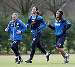 Kenny Black with Belil Mohsni and Kevin Mbabu