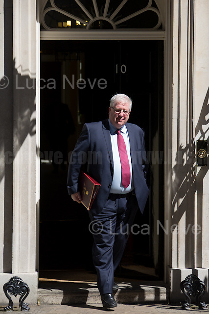 Patrick McLoughlin MP (Chancellor of the Duchy of Lancaster).<br />