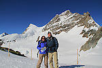 John and Beth in the Alps above Lauterbrunnen, Switzerland.