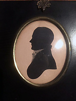 BNPS.co.uk (01202) 558833. <br /> Pic: DixNoonanWebb/BNPS<br /> <br /> Pictured: A silhouette of Samuel Birchall. <br /> <br /> An 'exceptional' collection of British coins which was amassed by a dedicated wool dealer 240 years ago is tipped to sell for £60,000.<br /> <br /> Samuel Birchall lived in Leeds but frequently made the 400-mile roundtrip to London to visit his trusted dealer to bolster his collection.<br /> <br /> He was known in coin circles as a 'prompt payer' so contacts would save valuable specimens for him.<br /> <br /> Birchall's collection, which has been split into 148 lots, is going under the hammer with London-based auctioneers Dix Noonan Webb.