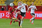 v.li.: Sydney Lohmann (Deutschland, 8) am Ball, Aktion, Action, DIE DFB-RICHTLINIEN UNTERSAGEN JEGLICHE NUTZUNG VON FOTOS ALS SEQUENZBILDER UND/ODER VIDEOÄHNLICHE FOTOSTRECKEN. DFB REGULATIONS PROHIBIT ANY USE OF PHOTOGRAPHS AS IMAGE SEQUENCES AN/OR QUASI-VIDEO., 21.02.2021, Aachen (Deutschland), Fussball, Länderspiel Frauen, Deutschland - Belgien <br /> <br /> Foto © PIX-Sportfotos *** Foto ist honorarpflichtig! *** Auf Anfrage in hoeherer Qualitaet/Aufloesung. Belegexemplar erbeten. Veroeffentlichung ausschliesslich fuer journalistisch-publizistische Zwecke. For editorial use only.
