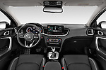 Stock photo of straight dashboard view of 2020 KIA XCeed Sense 5 Door SUV Dashboard