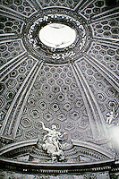 The Church of Saint Andrew's at the Quirinal is a Roman Catholic titular church in Rome, Italy, built for the Jesuit seminary on the Quirinal Hill.<br /> Designed by Bernini.