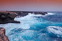 Storm on the coast, Netherland Antilles, Bonaire, Caribbean Sea, Atlantic, Washington Slagbaai National Park, Supladó