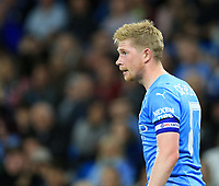21st September 2021; Etihad Stadium,Manchester, England; EFL Cup Football Manchester City versus Wycombe Wanderers; Kevin De Bruyne of Manchester City