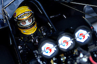 Apr 7, 2006; Las Vegas, NV, USA; NHRA Funny Car driver Whit Bazemore sits in the Matco Tools Dodge Charger prior to qualifying for the Summitracing.com Nationals at Las Vegas Motor Speedway in Las Vegas, NV. Mandatory Credit: Mark J. Rebilas
