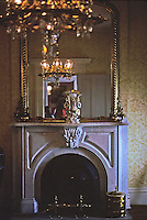 St. Louis: Chatillon-De Menil, Fireplace. Photo '78.