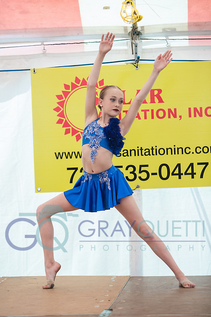 West Florida Dance Company performing at Blessed Sacrament Fair