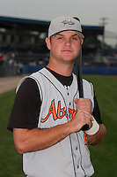 Aberdeen Ironbirds Zach Davis poses for a photo before a NY-Penn League game at Dwyer Stadium on July 20, 2006 in Batavia, New York.  (Mike Janes/Four Seam Images)
