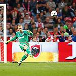 Nederland, Amsterdam, 15 augustus 2015<br /> Eredivisie<br /> Seizoen 2015-2016<br /> Ajax-Willem ll (3-0)<br /> Jasper Cillessen, doelman (keeper) van Ajax