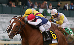 Octover 10, 2020 : #6 Mr Freeze and jockey Javier Castellano win the 63rd running of The Hagyard Fayette Grade 2 $200,000 for owner Jim Bakke and Gerald Isbister and trainer Dale Romans at Keeneland Racecourse in Lexington, KY on October 10, 2020.  Candice Chavez/ESW/CSM