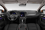Stock photo of straight dashboard view of 2020 Renault Megane Edition-One 5 Door Hatchback Dashboard