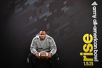 SAN ANTONIO, TX - JANUARY 1, 2013: The 2013 Army All-American Bowl Player's Lounge. (Photo by Jeff Huehn)