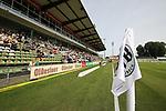 19.09.2020, Dietmar-Scholze-Stadion an der Lohmuehle, Luebeck, GER, 3. Liga, VfB Luebeck vs 1.FC Saarbruecken <br /> <br /> DFB REGULATIONS PROHIBIT ANY USE OF PHOTOGRAPHS AS IMAGE SEQUENCES AND/OR QUASI-VIDEO.<br /> <br /> im Bild / picture shows <br /> Die Lohmuehle mit 1850 Zuschauern<br /> <br /> <br /> Foto © nordphoto / Tauchnitz