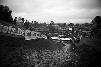 steep muddy climb<br /> <br /> Bpost Bank Trofee - GP Mario De Clerq 2013