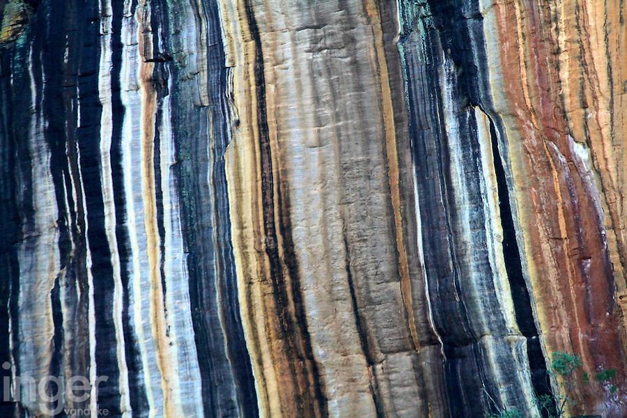 Streaked stone at Nourlangie Rock, Kakadu National Park, Northern Territory